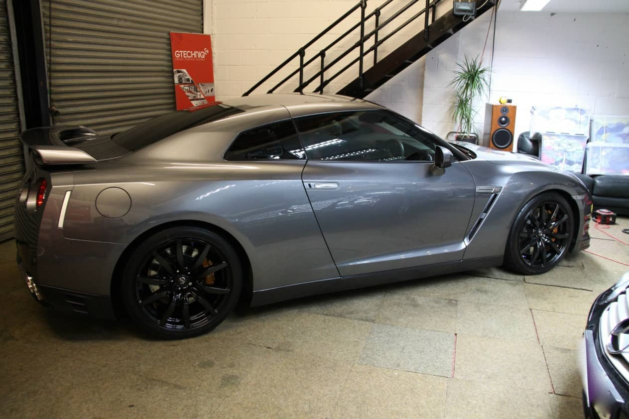 Nissan Gtr 2012 Dark Metallic Grey Miracle Detail