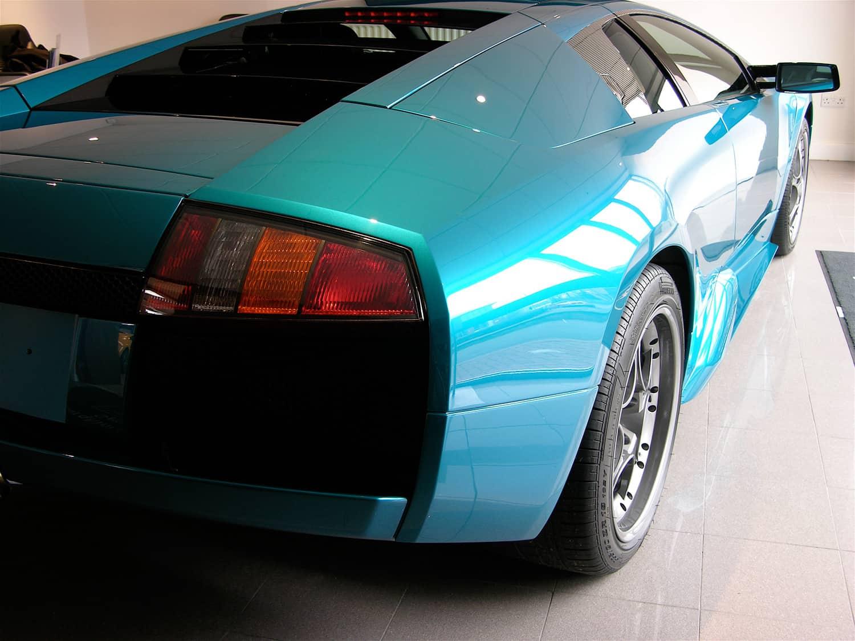 Lamborghini Murcielago 40th Anniversary Edition Miracle Detail